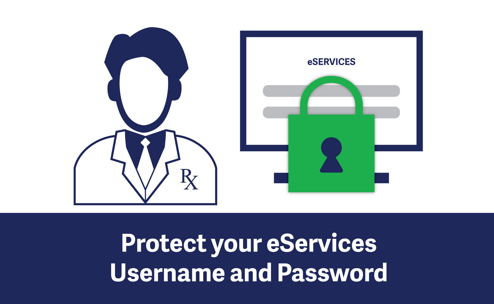 protect your eservices username and password college of